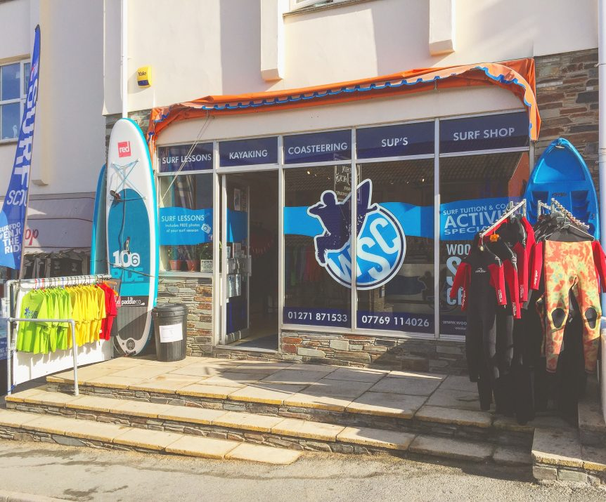 Woolacombe Surf Centre, surf school, shop, hire, surf lessons, surf school, stand up paddleboards, coasteering, kayaking
