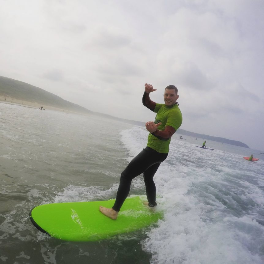 Learn to surf with Woolacombe Surf Centre, Woolacombe Beach, the very best in surf tuition