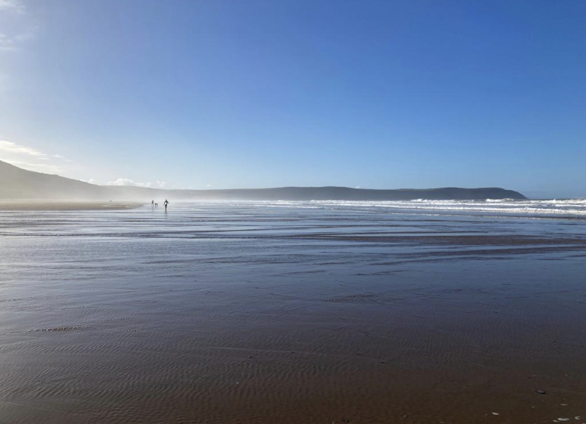 Beautiful Woolacombe Beach near Croyde, Saunton and Braunton where Woolacombe Surf Centre offers the best surf lessons