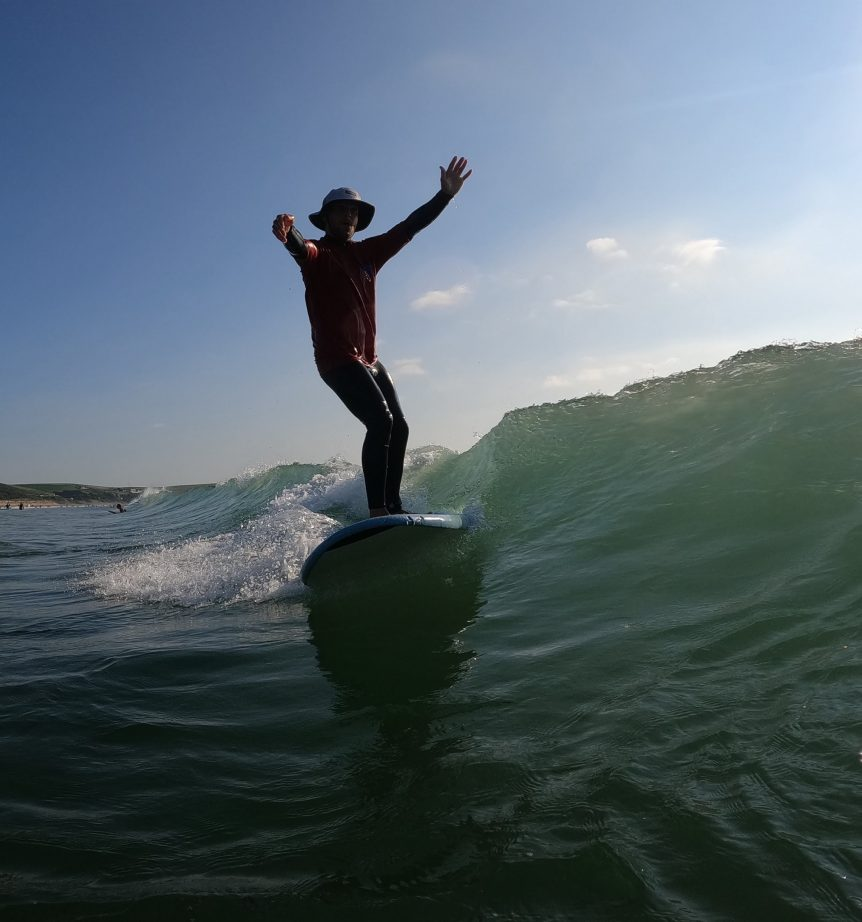 summer surf lessons in North Devon with Woolacombe surf centre best surf school